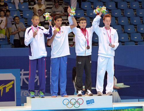 Daniel Chiovetta holt Bronze bei Olympiade in China
