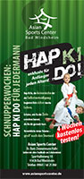 Flyer-Hap-Ki-Do-testen