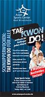 Flyer-Taekwondo-testen