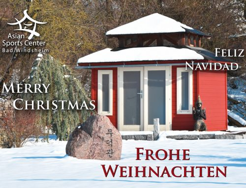 Frohe Weihnachten wünscht das Team des AsianSportsCenter Bad Windsheim